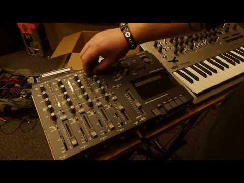 Learning Live Electronics: Minilogue and Tape!