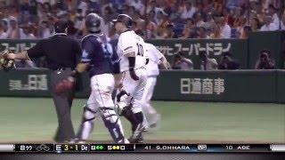 阿部慎之助デッドボールにブチキレ!! 野球ときどきbaseball https://w...