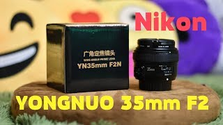 видео Тест объектива Yongnuo YN 35 mm f2.0