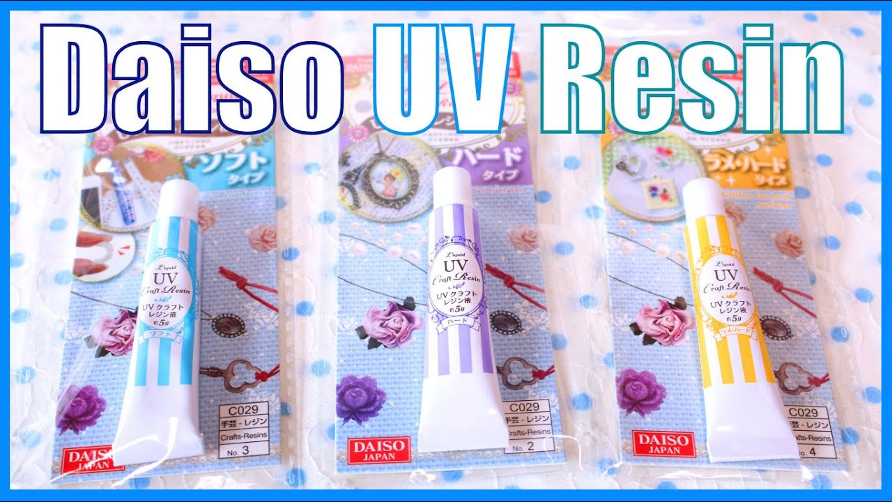 First Impressions Daiso Uv Resin Comparison Amp Review