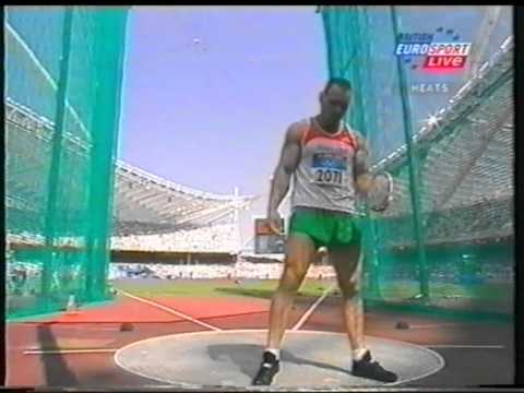 Discus Throw Mens Olympics 2004 Athens