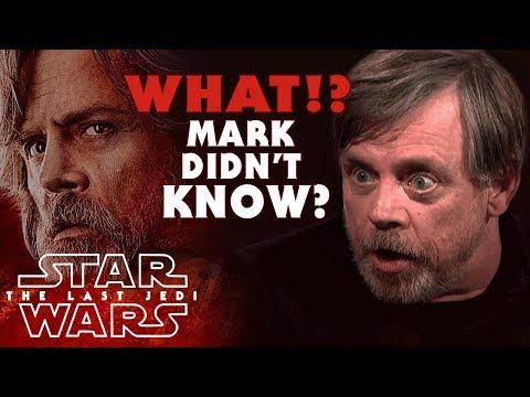 Mark Hamill NEVER Knew About Luke's Fate in The Last Jedi? (Spoilers) | Star Wars The Last Jedi