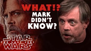 Mark Hamill NEVER Knew About Luke
