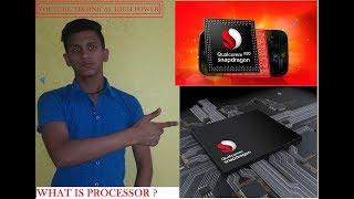 Mobile Processor Explained in Detail / quallmcomm snapdragon processor.