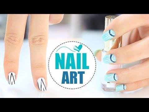 Nails art dise os de u as f ciles y r pidos youtube - Platos rapidos y sencillos ...