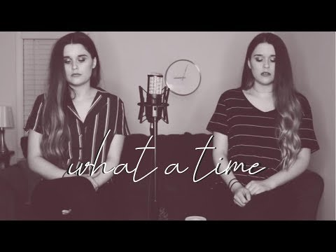 What A Time - Julia Michaels Ft. Niall Horan (Katey X Krista Cover)