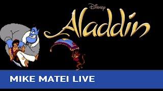 Disney's Aladdin (Sega Genesis) - Mike Matei Live