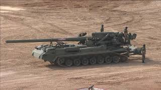 Динамический показ вооружения РВиА и войск РХБ защиты в рамках МВТФ «Армия-2020»