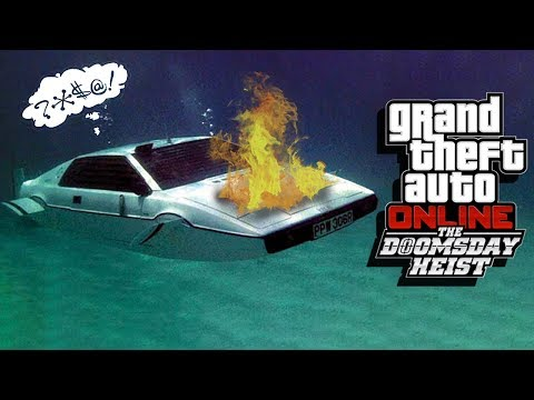 GET REKT - GTA 5 Doomsday Heist Gameplay Part 13