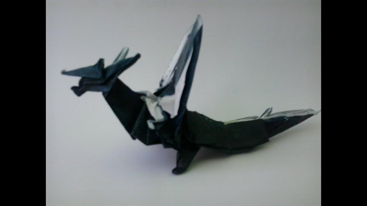 origami fiery dragon kade chan youtube