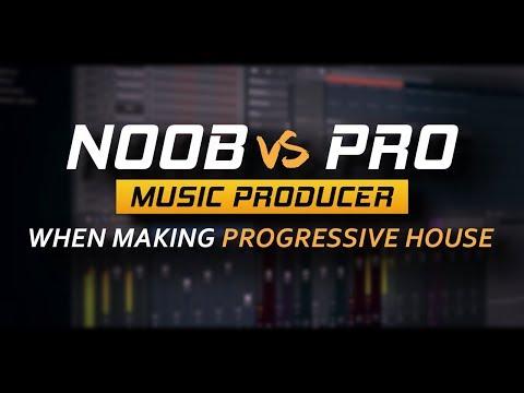 """Noob vs Pro"" Music Producer When Making Progressive House"