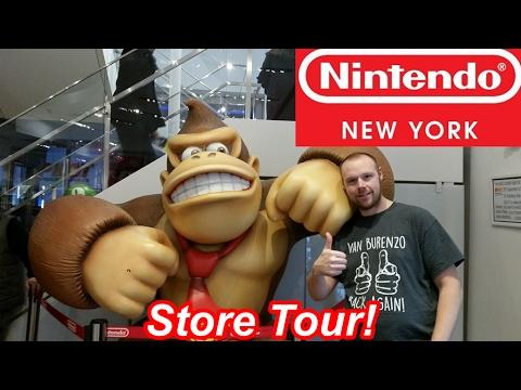 Nintendo New York Store Tour 2017!