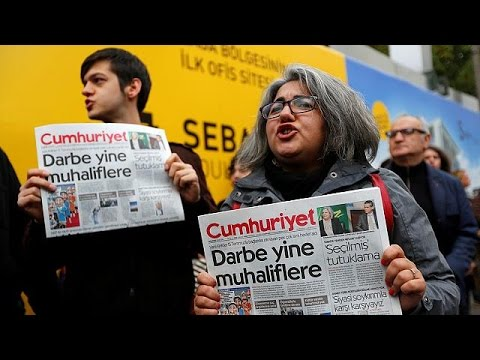 Police detain opposition Cumhuriyet editor in Turkey - world
