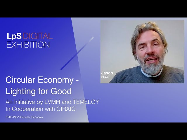 Lighting for Good - Circular Economy
