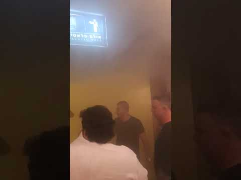 שריפה באולמי נוביה (צילום: באדיבות חדשות בזמן)