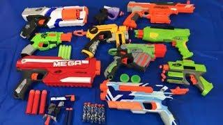 Toy Guns Box of Toys NERF Guns Rival Zombie Pistols