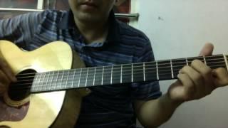 Huong dan bai Duyen Phan (Guitar solo) (tone Am & Em) [K'K]