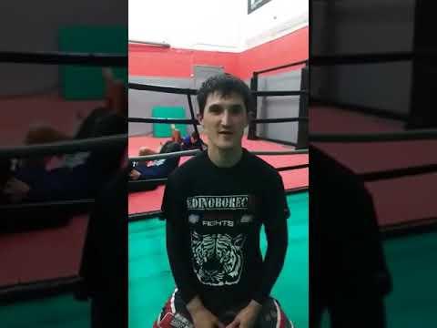 Видеоприглашение Валерия Рыбакова на. RED CITY FIGHTS 9