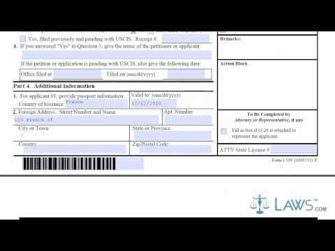 Learn How to Fill the I-539 Form Application to Extend Change Non