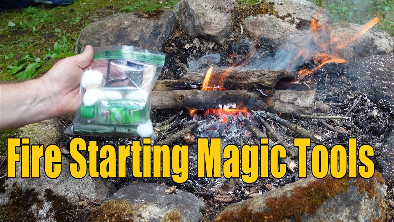 Fire Starting Magic Bag of Tricks - Works Every Time