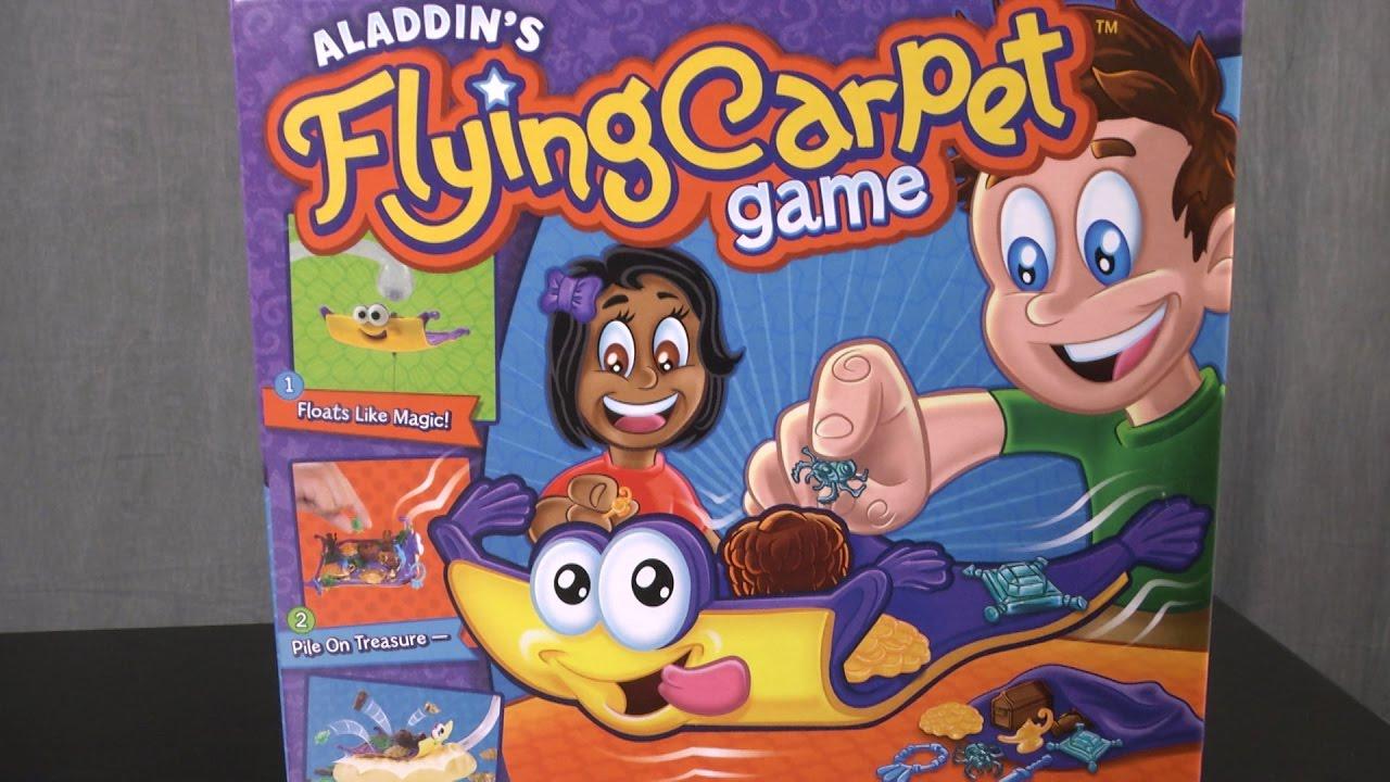 Fliegender Teppich Spiel