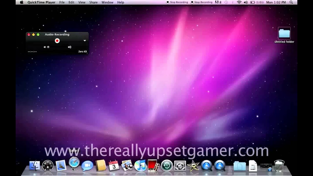 How to video screen capture for free using a mac youtube ccuart Images