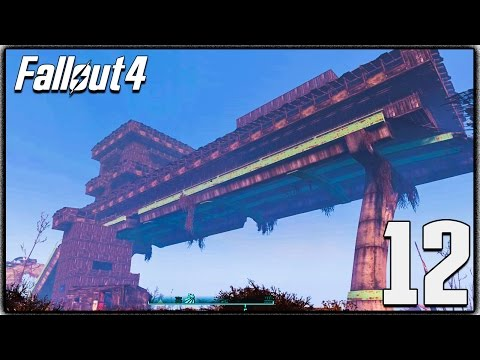 Fallout 4 BASE BUILDING GAMEPLAY! Highway Base, Rare Traders & More! (Let's Play #12)