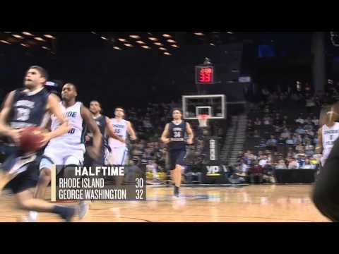 Men's Basketball vs. Rhode Island: Atlantic 10 Quarterfinals