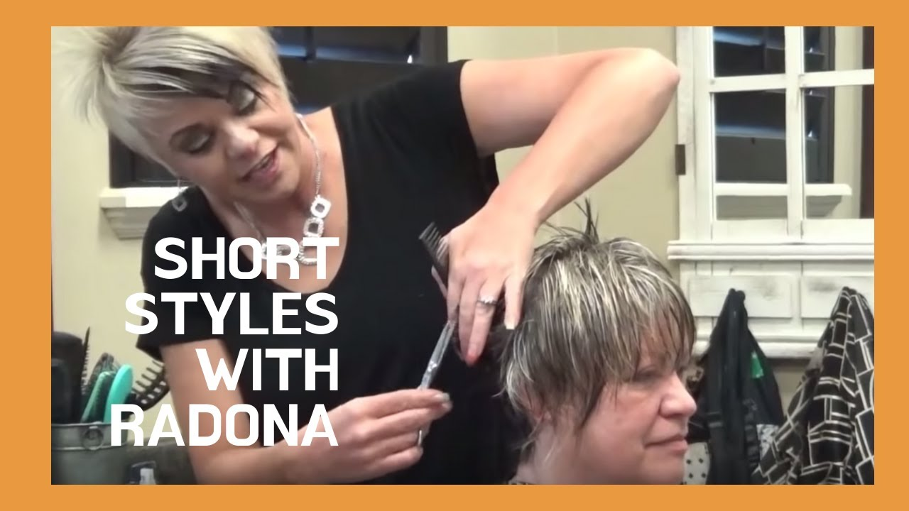 Short Stacked Wispy Hairstyles For Older Women Youtube