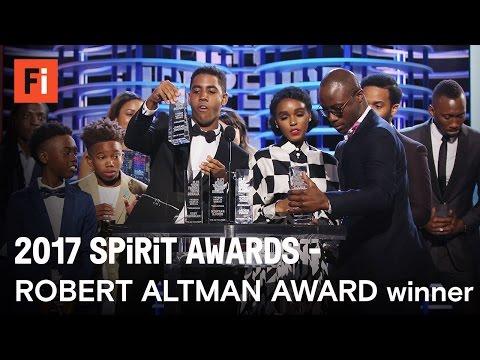 MOONLIGHT wins the Robert Altman Award at the 2017 Film Independent Spirit Awards