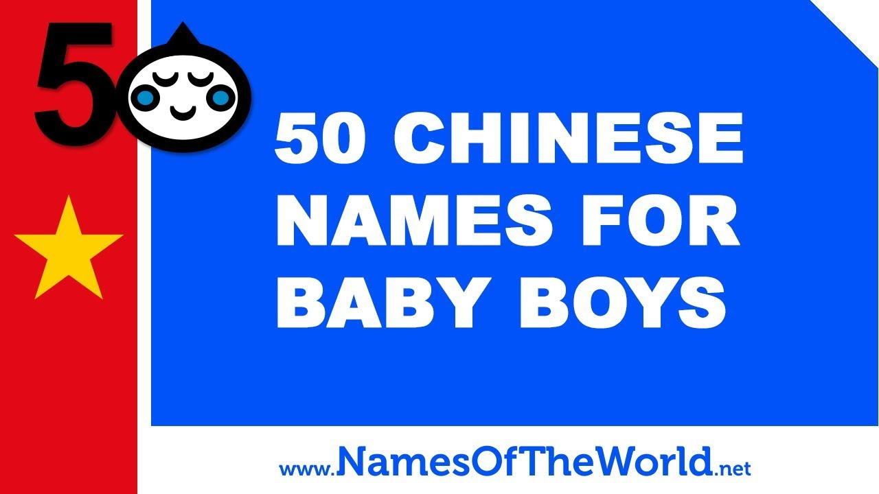 150+ Chinese Baby Boy Names and Meanings | WeHaveKids