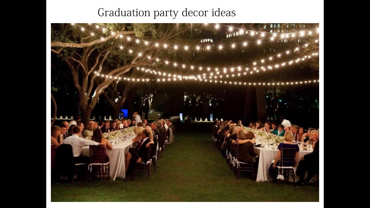 Graduation Dinner Party Ideas Part - 23: Tips On Graduation Party Ideas - YouTube