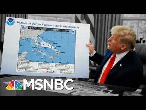 Day 958: President Donald Trump, Hurricane Dorian... And A Sharpie | The 11th Hour | MSNBC