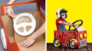 24 CARDBOARD PROJECTS FOR WHOLE FAMILY
