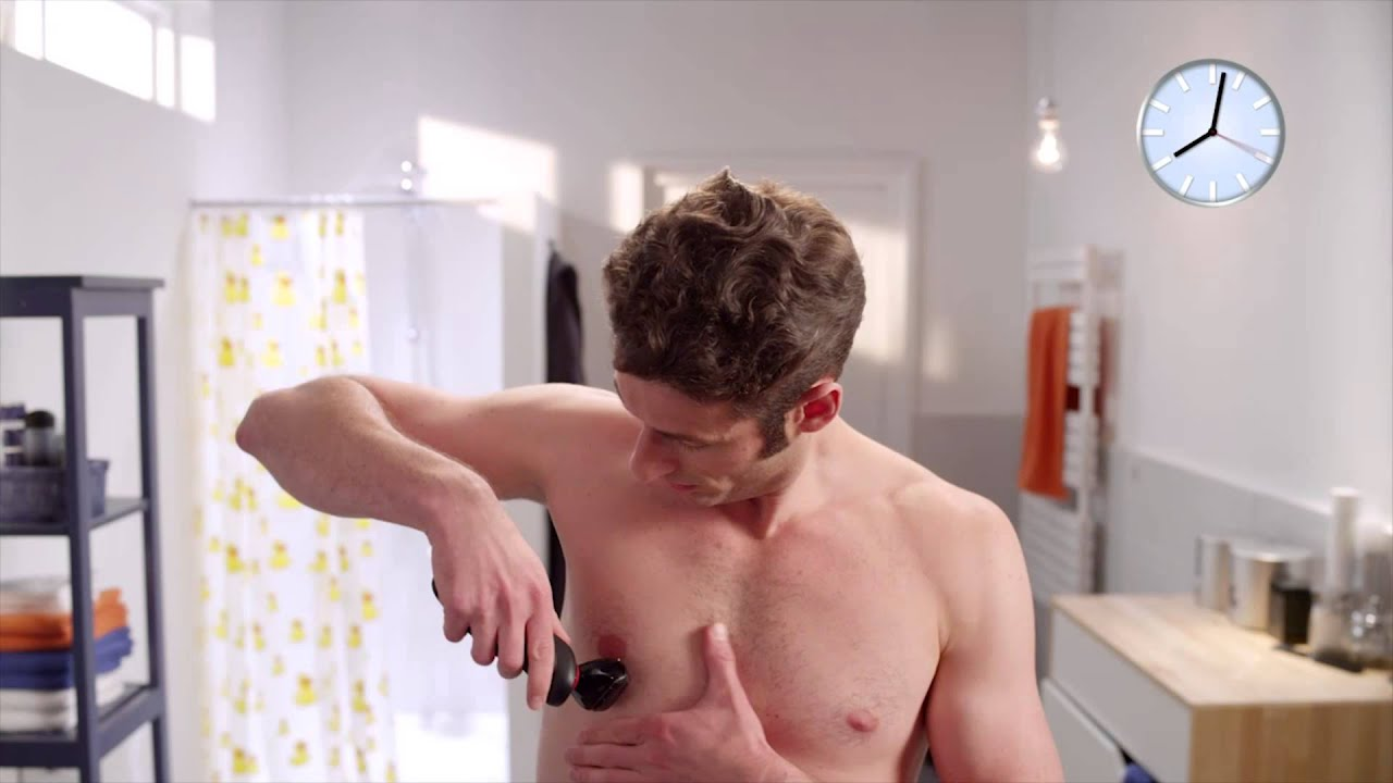 hur rakar man armhålorna
