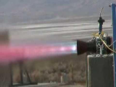 LOX Methane rocket test   35 sec.