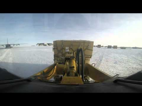 Cargo Days - Amundsen-Scott South Pole Station, Antarctica