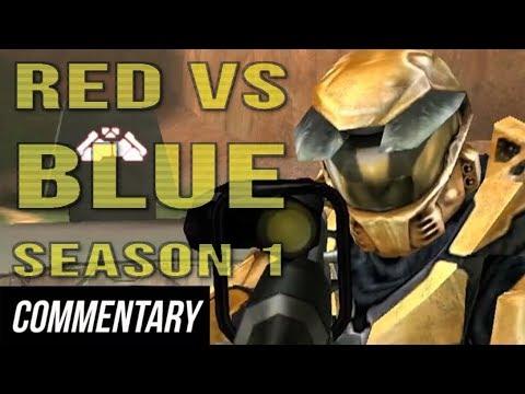 [Blind Commentary] Red vs. Blue - Season 1