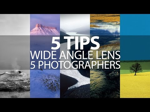 5 Tips for Wide Angle Lens Landscape Photography from 5 Photographers