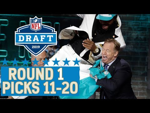 Picks 11-20: A Chest Bump with the Commissioner, Another QB Gone, & More! | 2019 NFL Draft
