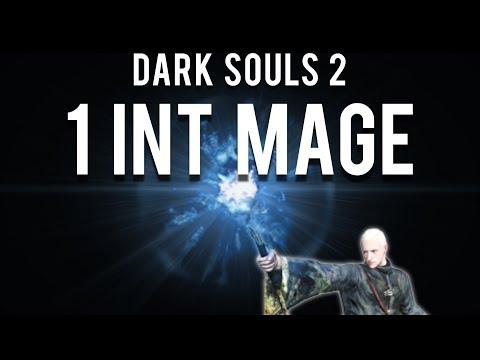 Dark Souls 2 : 1 INT Mage (Raw Blue Flame)
