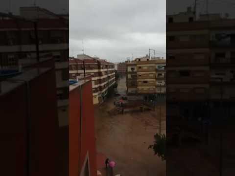 Inundaciones en Espinardo. Murcia