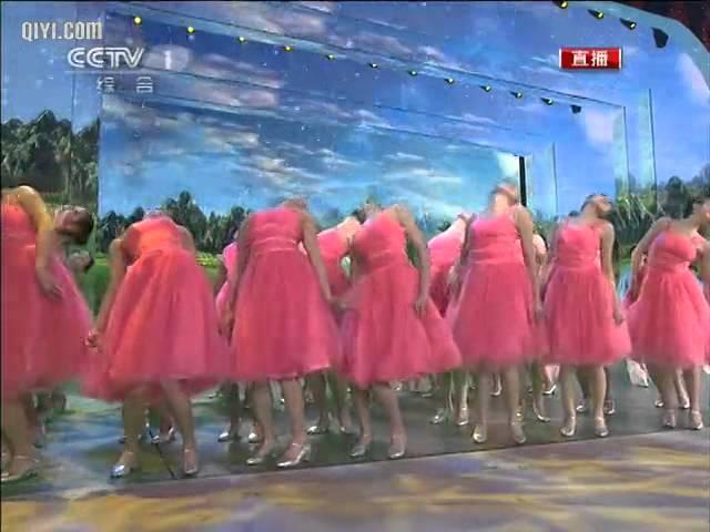 2011 央视春节联欢晚会  《因为有你 》 祖海 汤灿   CCTV春晚