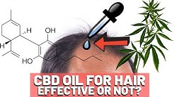 CBD Oil Hair Growth - Should You Try It?