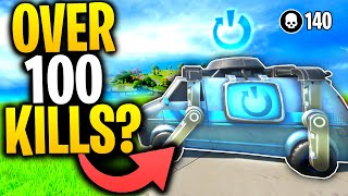 Can You Get OVER 100 KILLS Using A REBOOT VAN In Fortnite Chapter 2? | Fortnite Mythbusters