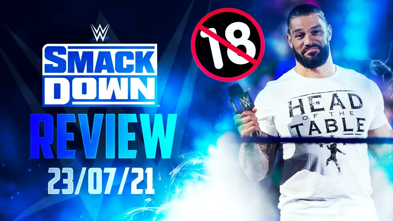 Ça devient chaud à SmackDown ! 🔞😂  SmackDown du 23/07/21