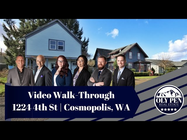 1224 4th St | Cosmopolis, WA | Video Walk-Through