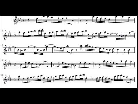 Vivaldi Largo (Winter) from The Four Season violin sheet music