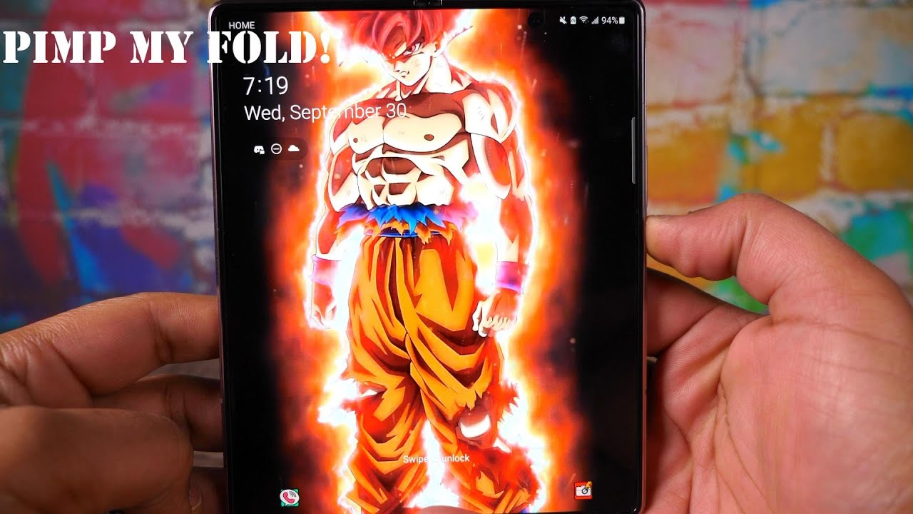 Pimp My Fold 2 Custom Live Wallpapers And Other Cool Stuff Samsung Galaxy Z Fold 2 Youtube