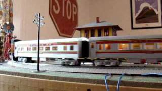 Download lagu Running my O scale trains on Thanksgiving 2009